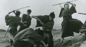 Three Outlaw Samurai (1964)