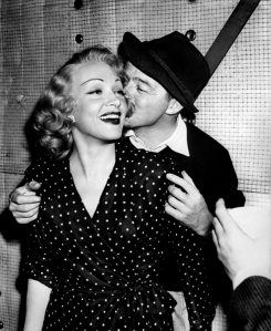 Billy Wilder and Marlene Dietrich