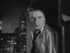 """Richard Basehart in """"Fourteen Hours"""" (1951)"""