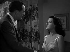 "Hedy Lamarr and William Powell in ""The Heavenly Body"" (1944)"