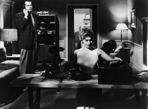 "Kim Novak and Fred MacMurray in ""Pushover"" (1954)"