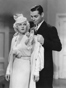 "Clark Gable and Jean Harlow in ""Hold Your Man"" (1933)"